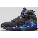 Air Jordan 8 Aqua 2015 Retro Black True Red Flint Grey Bright Concord 305381-025